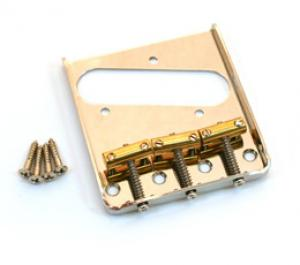 NICKEL 3-SADDLE COMPENSATED BRIDGE FOR TELE