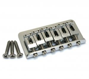 005-8274-000 Genuine Fender Chrome two and one sixteenths Hardtail Strat and Tele Guitar Bridge 0058274000