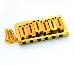 003-6808-000 Fender American Series Gold Hardtail Strat Guitar Bridge 0036808000