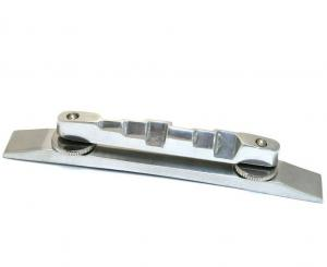GB-0527-001 Bigsby Adjustable Polished Aluminum Compensated Guitar Bridge