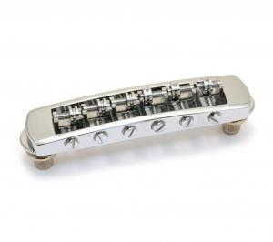 GB-0590-010 Chrome Schaller Roller Tunematic Guitar Bridge Germany Gibson Les Paul/SG
