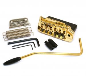 42100VG Hipshot Gold Contour Steel Block Tremolo For Fender AM Series Stratocaster