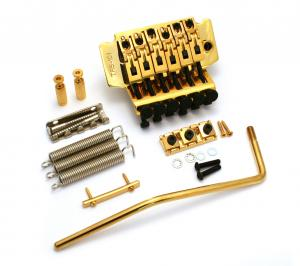 SB-0257-002 Gold Floyd Rose Style TRS-101 Double Locking Tremolo System